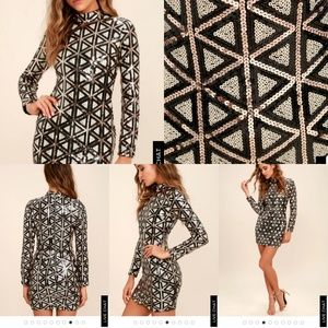 b4b0b4aee4 Women s Long Sleeve Sequin Bodycon Dress on Poshmark